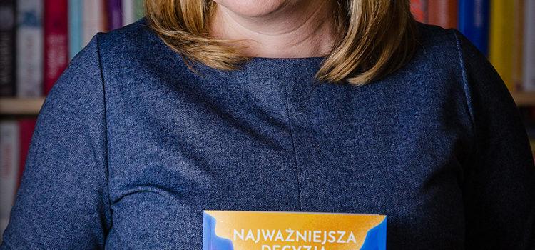 """Wieczór autorski Magdaleny Knitter – promocja książki """"Najważniejsza decyzja"""""""