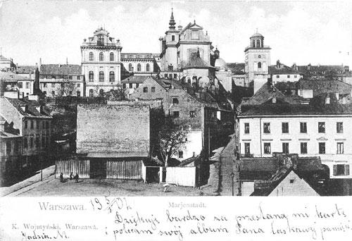 Spacer historyczny wzdłuż Skarpy Warszawskij